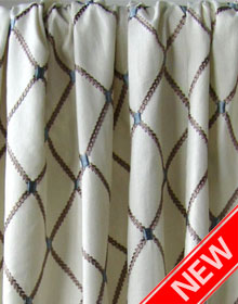 Premium Quality Linen\Cotton Embroidery Drapes and Curtains